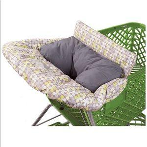 2 in 1 Shopping cart cover w detachable cushion